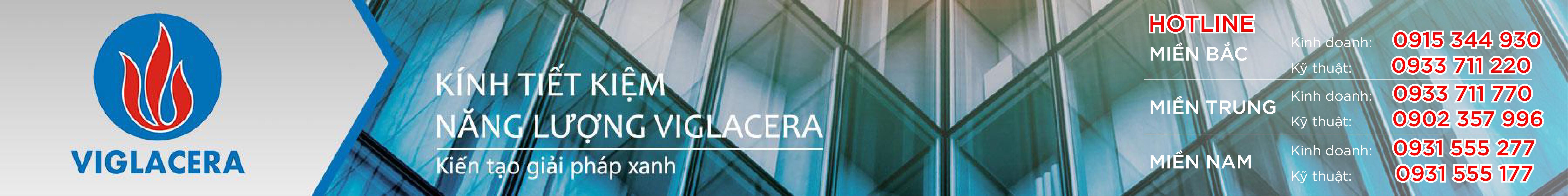 VIGLACERA - Kính tiết kiệm năng lượng